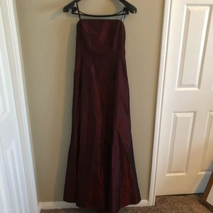 Laundry Size 6 Formal Dress Dark red with sheen